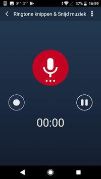 MP3 Snijder - muziek editen, snij liedjes, muziek screenshot 4