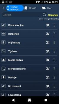 MP3 Snijder - muziek editen, snij liedjes, muziek screenshot 9