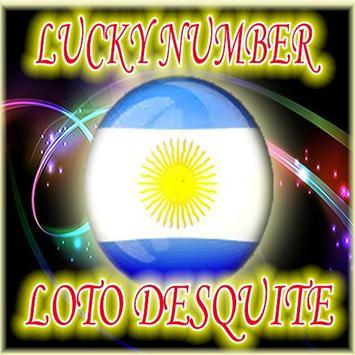 Predecir Loto Plus Argentina - dv Loto Desquite poster