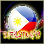 Super Lotto 6/49 Philippine - Divine the result icon