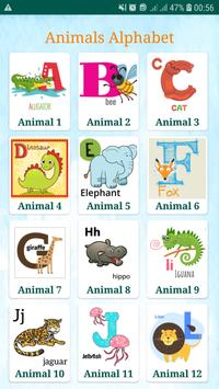 Learning alphabets for kids screenshot 1