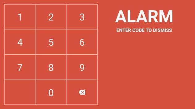 MQTT Alarm Control Panel syot layar 4