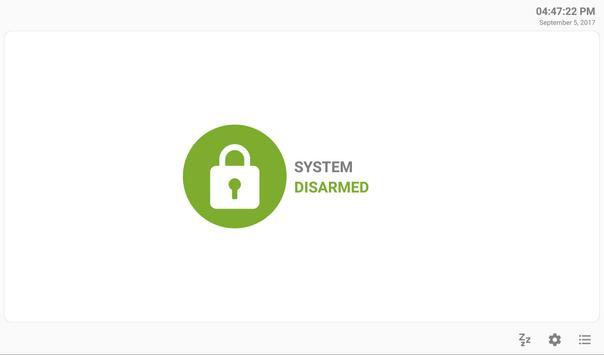 MQTT Alarm Control Panel syot layar 7