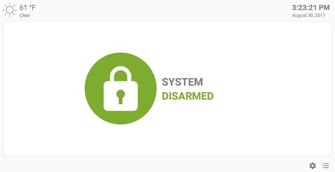 MQTT Alarm Control Panel syot layar 8