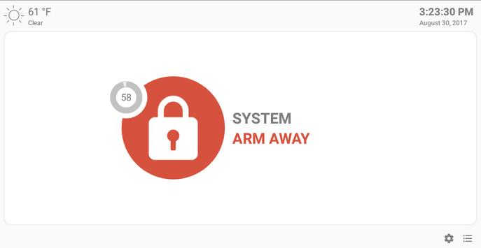 MQTT Alarm Control Panel syot layar 10