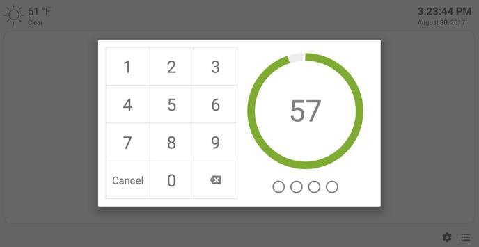 MQTT Alarm Control Panel syot layar 11