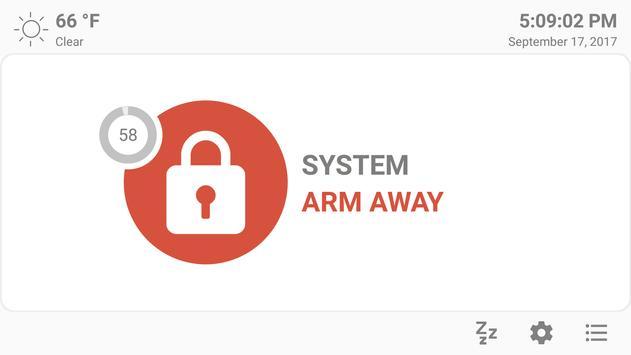 MQTT Alarm Control Panel syot layar 2