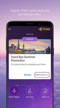 Thai Airways captura de pantalla 3