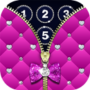 Diamond Zipper Lock Screen APK Android