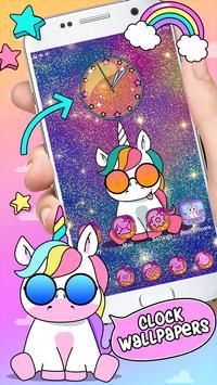 Pink Unicorn Theme Launcher screenshot 3