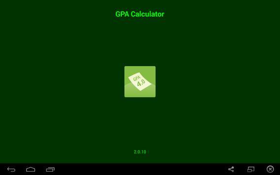 GPA Calculator screenshot 4