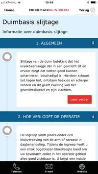 Beekman Klinieken screenshot 3