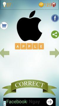 Brand Logo Quiz poster