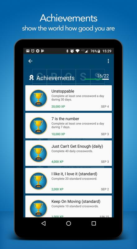 Crossword puzzle free for android apk download.