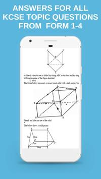 MATHS KCSE TOPICAL (QUESTIONS + ANSWERS) FORM 1- 4 screenshot 2