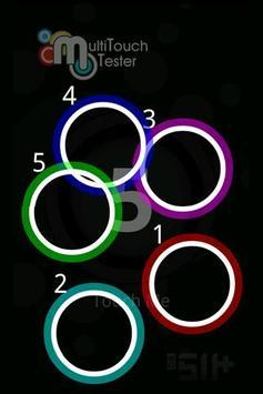 MultiTouch Tester Ekran Görüntüsü 1
