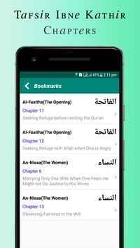 Quran Tafsir Ibne Kathir English & Arabic screenshot 5