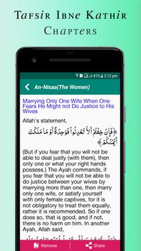 Quran Tafsir Ibne Kathir English & Arabic screenshot 6