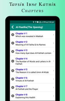 Quran Tafsir Ibne Kathir English & Arabic screenshot 9