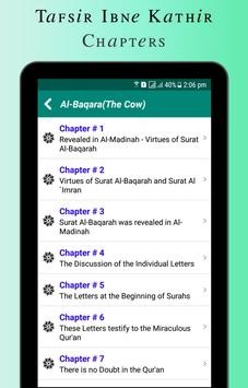 Quran Tafsir Ibne Kathir English & Arabic screenshot 11