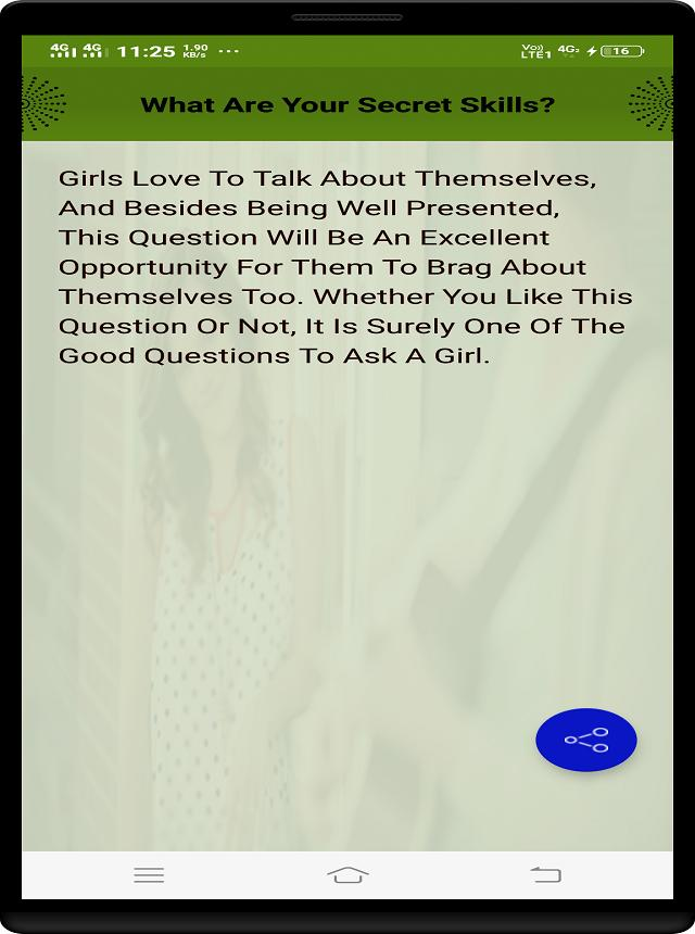 QUESTIONS TO ASK A GIRL for Android - APK Download