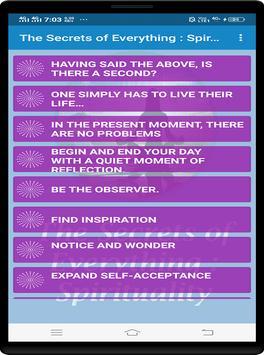 The Secrets of Everything : Spirituality screenshot 1