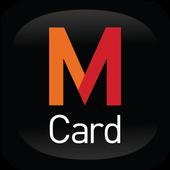 M Card icon