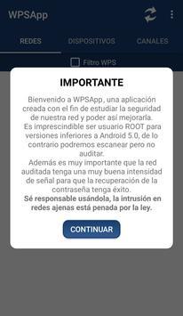 WPSApp captura de pantalla 1