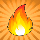 Flappy fire - Jump Game Online icon