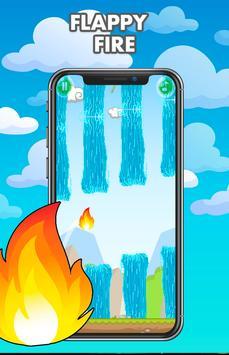 Flappy fire - Jump Game Online screenshot 10