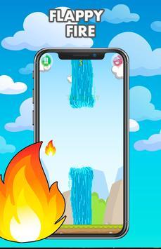 Flappy fire - Jump Game Online screenshot 1