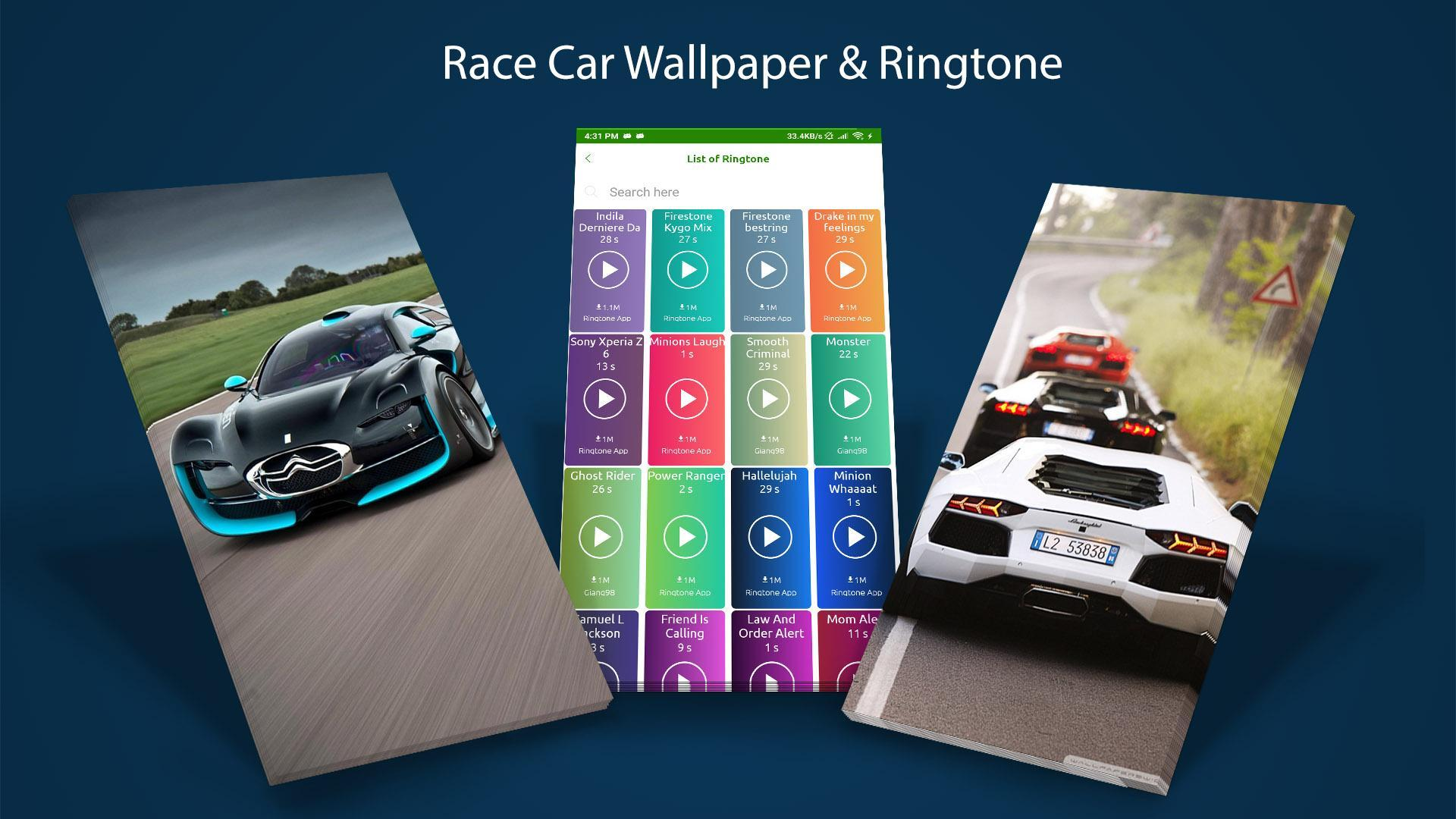 Wallpaper Car Ringtone Live Background Luxury For Android