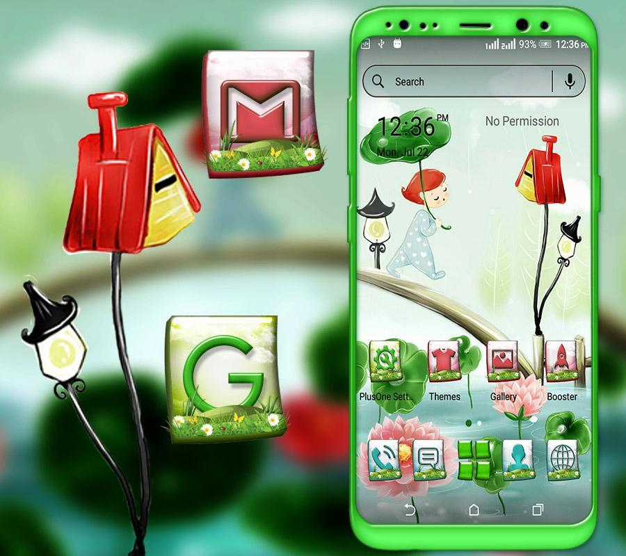 Anime Cartoon Launcher Theme For Android Apk Download