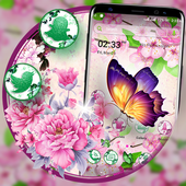 Butterfly Flower Launcher Theme icon