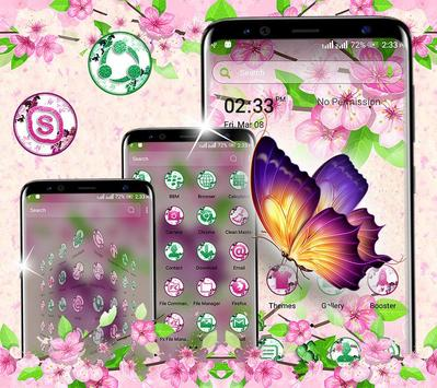 Butterfly Flower Launcher Theme screenshot 2
