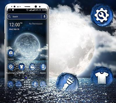 Sea Moon Launcher Theme screenshot 1