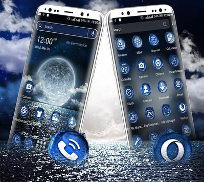 Sea Moon Launcher Theme screenshot 2