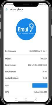Theme Emui 9 for Huawei/Honor screenshot 2