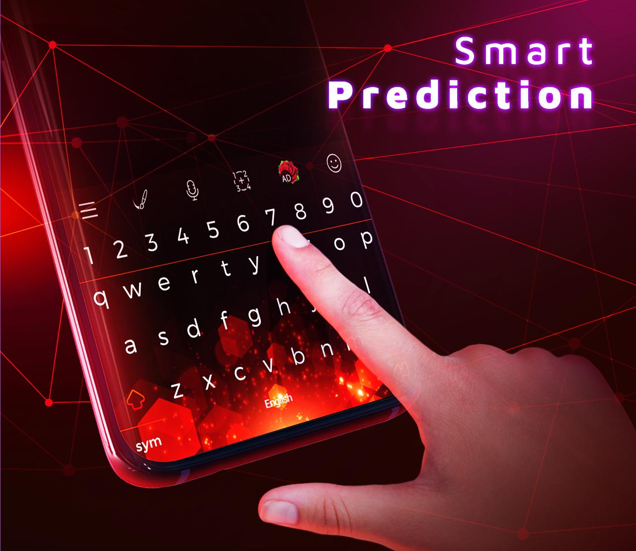 Red Keyboard Themes Wallpapers For Android Apk Download