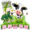 Cartoon Cow Launcher Theme icono