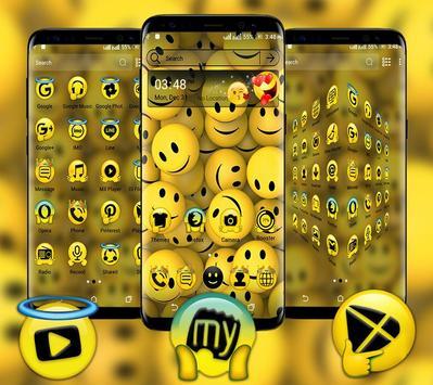 Emoji Launcher Theme poster