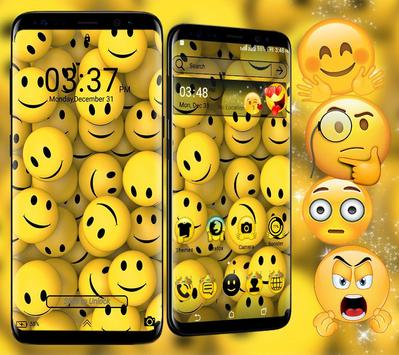 Emoji Launcher Theme 截图 1