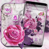 Marble Rose Launcher Theme icono