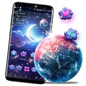 Night Moon Launcher Theme icon
