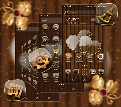 Transparent Heart Launcher Theme screenshot 1