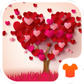 Heart Tree 2018 - Love Wallpaper Theme icon