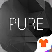 Pure Black Launcher Theme icon