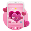 Pink Hearts 2018 - Love Wallpaper Theme icône