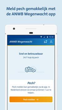 ANWB Wegenwacht Pechhulp app poster