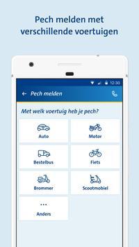ANWB Wegenwacht Pechhulp app screenshot 1